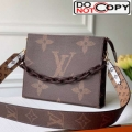 Louis Vuitton Giant Monogram Strap Toilet Pouch XL Coffee bag