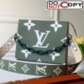 Louis Vuitton Giant Monogram Strap Toilet Pouch XL Green bag
