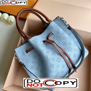 Louis Vuitton Girolata Bag in Perforate Calfskin M53154 Blue bag