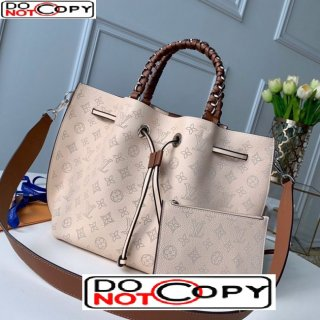 Louis Vuitton Girolata Bucket Bag in Perforate Calfskin M53915 Beige bag