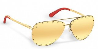 Louis Vuitton Gold The Party Sunglasses Z0910U