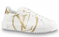 Louis Vuitton Gold Time Out Sneakers