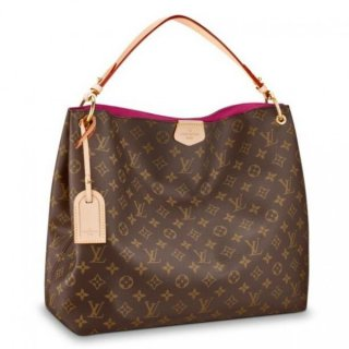 Louis Vuitton Graceful MM Bag Monogram M43703 bag