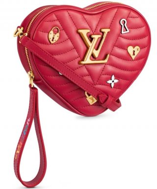 Louis Vuitton Heart Bag New Wave M52794 red bag