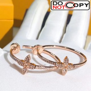 Louis Vuitton Idylle Blossom Hoops Rosy Gold 02