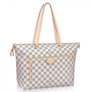 Louis Vuitton Iena MM Bag Damier Azur N44040 bag