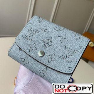 Louis Vuitton Iris Compact Wallet M62540 Light Blue bag