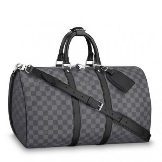 Louis Vuitton Keepall Bandouliere 45 Damier Graphite N41418