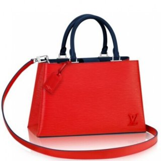 Louis Vuitton Kleber PM Bag In Coquelicot Epi Leather M51333 bag
