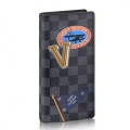 Louis Vuitton League Brazza Wallet Damier Graphite N64438 bag