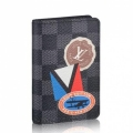 Louis Vuitton League Pocket Organiser Damier Graphite N64440 bag