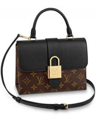 Louis Vuitton Locky BB bag M44141 black bag