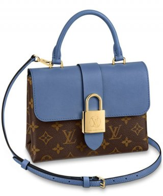 Louis Vuitton Locky BB bag M44321 blue bag