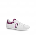 Louis Vuitton Luxembourg Iridescent and Silky Calfskin Sneaker Purple (For Women and Men)