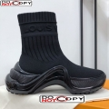 Louis Vuitton LV Archlight Knit Stretch Sock Sneaker Boots All Black