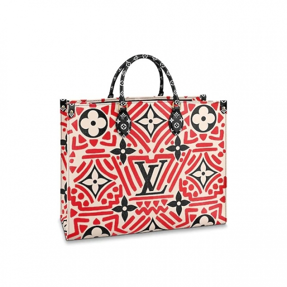 Louis Vuitton LV Crafty Onthego GM Tote Bag M45358 Red bag