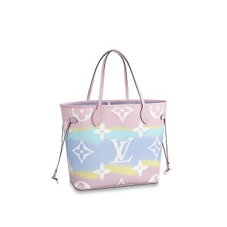 Louis Vuitton LV Escale Neverfull MM Bag M45270 Pink Bag