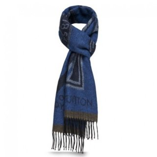 Louis Vuitton LV Stickers Scarf M70039
