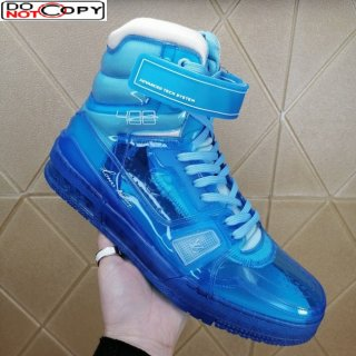 Louis Vuitton LV Trainer Transparent Boot Sneakers Blue (For Women and Men)
