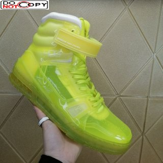 Louis Vuitton LV Trainer Transparent Boot Sneakers Yellow (For Women and Men)