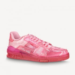 Louis Vuitton LV Trainer Transparent Low-top Sneakers Pink (For Women and Men)