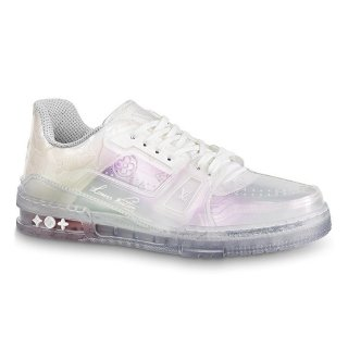 Louis Vuitton LV Trainer Transparent Low-top Sneakers White (For Women and Men)