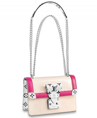 Louis Vuitton LV Wynwood M90442 pink bag