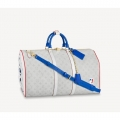 Louis Vuitton LV x NBA Basketball Keepall Bag in Monogram Canvas M45586 White Bag