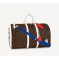 Louis Vuitton LV x NBA Basketball Keepall Bag in Monogram Canvas M45587 Coffee Brown Bag