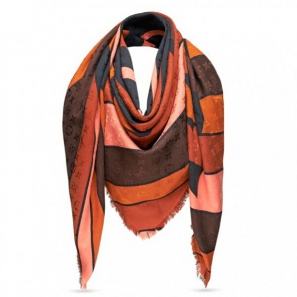 Louis Vuitton LVllusion V Shawl M75744