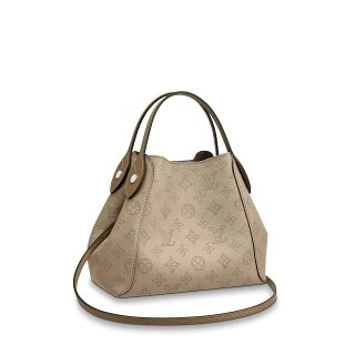 Louis Vuitton Mahina Hina PM Bag in Monogram Perforated Calfskin M54351 Beige bag