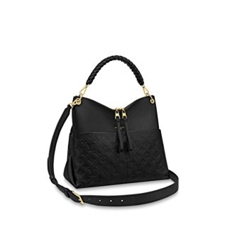 Louis Vuitton Maida Hobo Bag in Black Monogram Leather M45522 Bag