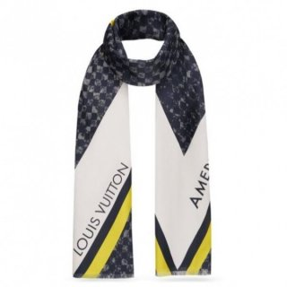 Louis Vuitton Marine Latitude Stole M70493