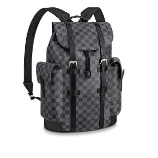 Louis Vuitton Men's Christopher PM in Damier Graphite Canvas N41379 bag