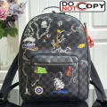 Louis Vuitton Men's Josh Damier Graphite Canvas Map Print Backpack N41473 bag