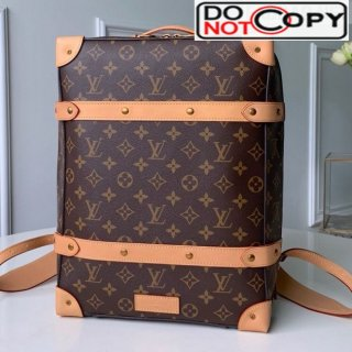 Louis Vuitton Men Monogram Canvas Soft Trunk Backpack PM M44752 bag