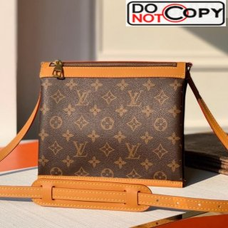 Louis Vuitton Men's Saumur Messenger PM Monogram Canvas Small Crossbody Bag M44879 bag
