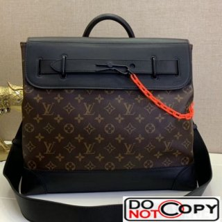 Louis Vuitton Men Steamer PM Top Handle Bag M44473 Monogram Canvas