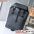 Louis Vuitton Men's Zack Backpack in Damier Graphite Canvas N40005 bag