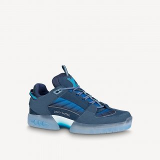 Louis Vuitton Men's A View Sneakers Blue