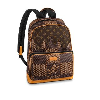 Louis Vuitton Men's Amazone Campus Backpack Bag in Giant Damier Ebene Canvas N40380 bag