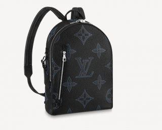 Louis Vuitton Men's Armand Backpack in Giant Monogram Leather M57288 Black bag