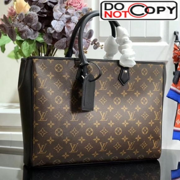 Louis Vuitton Men's Grand Sac Monogram Canvas Tote M55185