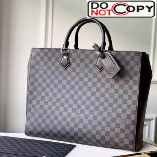 Louis Vuitton Men's Grand Sac Tote Damier Graphite Canvas N44733