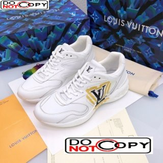 Louis Vuitton Men's LV Trail Sneakers in Logo Printed Silky Calfskin
