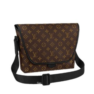 Louis Vuitton Men's Macassar Messenger Bag in Monogram Canvas M45557 Bag