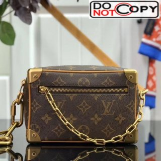 Louis Vuitton Men's Monogram Canvas Mini Soft Trunk Box Shoulder Bag M44480