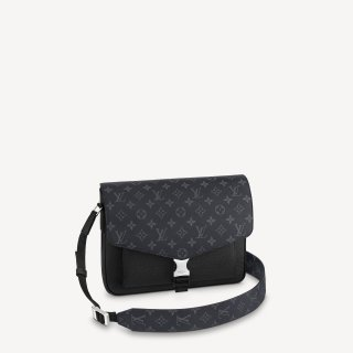 Louis Vuitton Men's New Messenger Bag M30746 Black bag