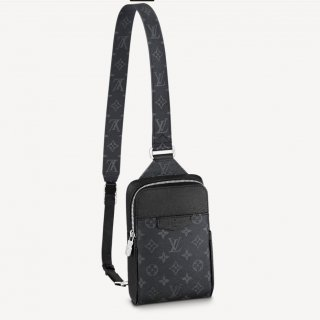 Louis Vuitton Men's Outdoor Slingbag M30741 Black bag