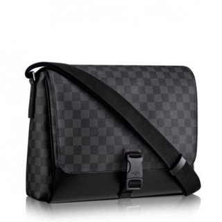 Louis Vuitton Messenger PM Bag Damier Graphite N41457 bag